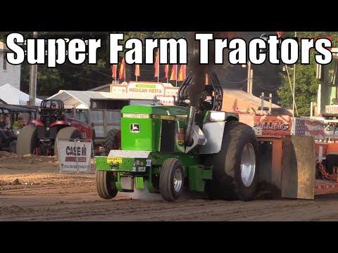 Super Farm Tractor Class At WPA Tractor Pulls In Charlotte Michigan 2018