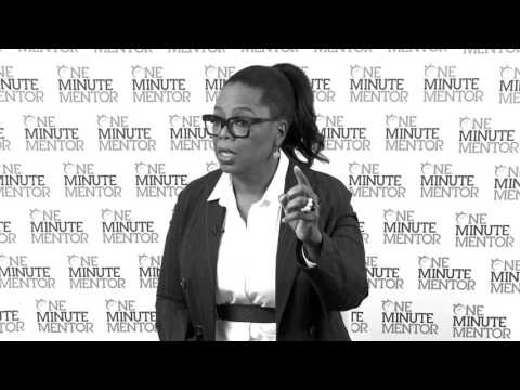 Hearst One Minute Mentor: Oprah Winfrey on Collaboration