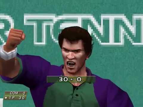 Virtua Tennis (Arcade Mode: Cedric Pioline) (Hitmaker, Strangelite) (Windows) [2002] [PC Longplay]