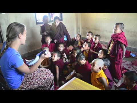 Volunteering at a Buddhist Monastery in Kathmandu, Nepal