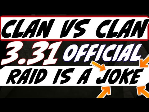 3.31 GARBAGE clan vs clan JOKE! accessories are broken. HAHA this company Raid Shadow Legends