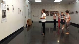 """Maite Perroni - """"Loca"""" (Feat. Cali & El Dandee) baile en linea-linedance"""