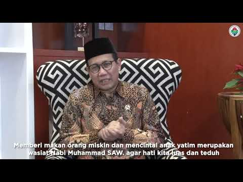 "Inspirasi Ramadan Menteri Desa: ""Kewajiban Membantu Orang Miskin"" (28)"