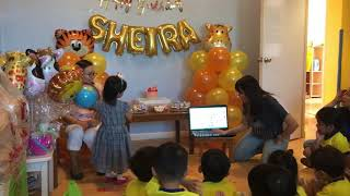 Sheira's bday celebration