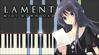 Emotional Piano Music - Lament | Synthesia Tutorial