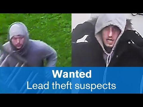 lead being stolen from a property in Patcham