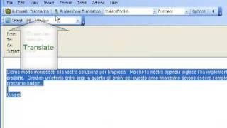 Translate Outlook Emails with SDL Desktop Translator