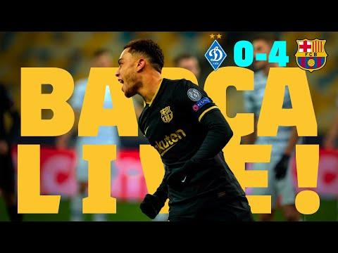 ⚽ BARÇA LIVE! | DYNAMO KIEV – BARÇA | Match Center