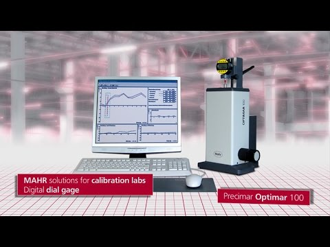 Solutions  Kalibrierlabor  FI  Optimar 100  Digital Dial Gage  EN