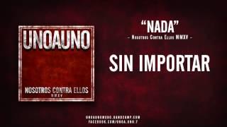 UNO A UNO HC - Nada (Lyric Video) hardcore