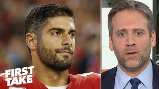 Jimmy Garoppolo can't elevate to Aaron Rodgers' level in the NFC Championship – Max | First Take