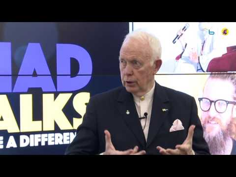 One-on-one with Tony Buzan [Inventor, Mind Maps]