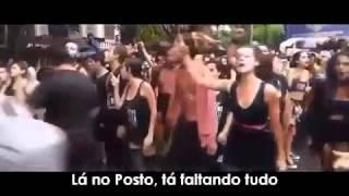 Baile de favela versão povo indignado.