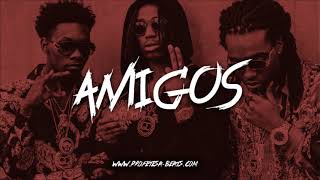 Trap Rap Beat Instrumental ''AMIGOS'' (prod. Profetesa) [Migos Type Beat]