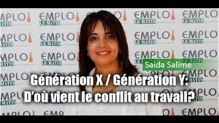 Génération X/ génération Y: D'où vient le conflit au travail ?