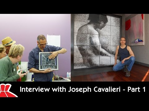 Interview with Glass Artist Joseph Cavalieri - Part 1