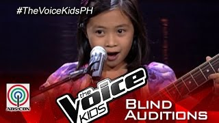 "The Voice Kids Philippines 2015 Blind Audition: ""Narda"" by Niña Faith"