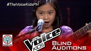 "The Voice Kids Philippines 2015 Blind Audition: ""Narda"" by Niña Faith"