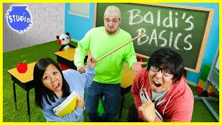 BALDI'S BASICS IN REAL LIFE! Baldi took over our Office!