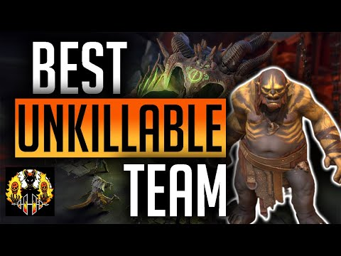 RAID: Shadow Legends | Maneater Best Unkillable team Clan Boss | Easiest and best set up so far!