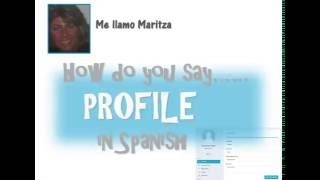 How Do You Say Profile In Spanish