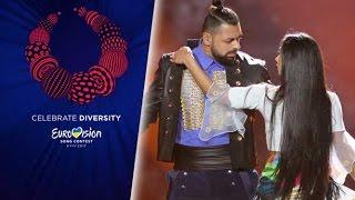 Joci Papai - Hungary - 2nd Rehearsal - Eurovision 2017 - Origo (FULL Rehearsal, HD)