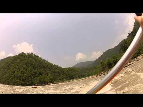 Rafting in Nepal on the Trisuli | June 2012 | Part 2
