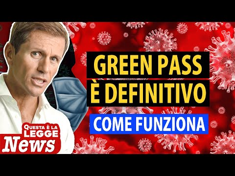GREEN PASS: CHI DEVE AVERLO? | Avv. Angelo Greco
