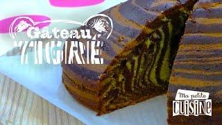 Recettes de cuisine : Ma petite cuisine Le gâteau tigré en vidéo