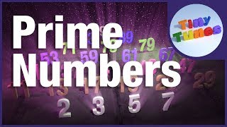 Prime Numbers Song for Kids | Prime Numbers up to 97 | Tiny Tunes