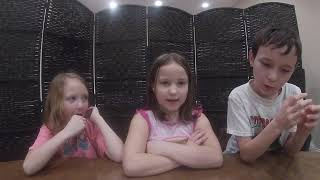 The kids' intro video