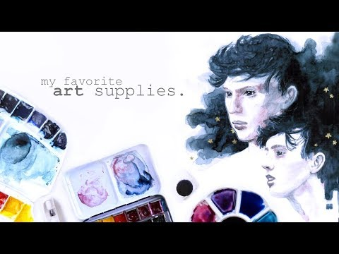 My Art Supplies 2017