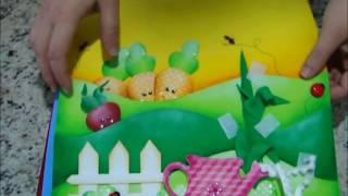 QUIET BOOK - Os Três Ursos e Cachinhos Dourados