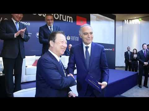 Video : Maroc et Corée du Sud passent à la vitesse supérieure