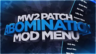 [MW2/1.14/PATCH] Abomination V1 Mod Menu Showcase + Download