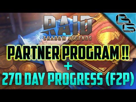 RAID: Shadow Legends | 270 Day F2P Progress !! | PARTNER PROGRAM !?!