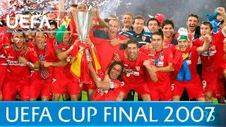 2007 UEFA Cup final highlights - Sevilla-Espanyol