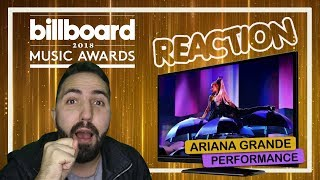 REAÇÃO || Ariana Grande @ Billboard Music Awards 2018 - No Tears Left To Cry