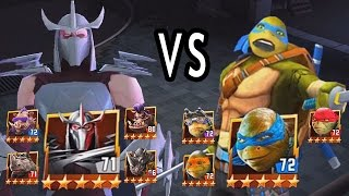 Shredder Team VS TMNT The Movie