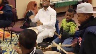 Drumtech Healing at Multicultural Kids Network.