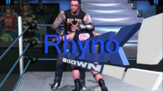 Rhyno Finisher(WWE SmackDown! 5 HCTP)