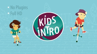 Kids Intro   After Effects template