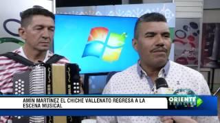 Amin Martinez el Chiche vallenato regresa a la escena musical - Oriente Noticias