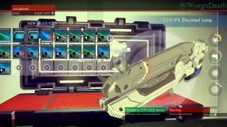 "No Man's Sky - Max Weapon Slots ""Multitool""  and Upgrade tips"