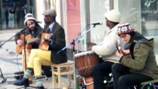 Rua Augusta, grupo africano