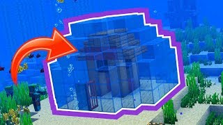 Tips on How To Build A Home Underwater In Minecraft