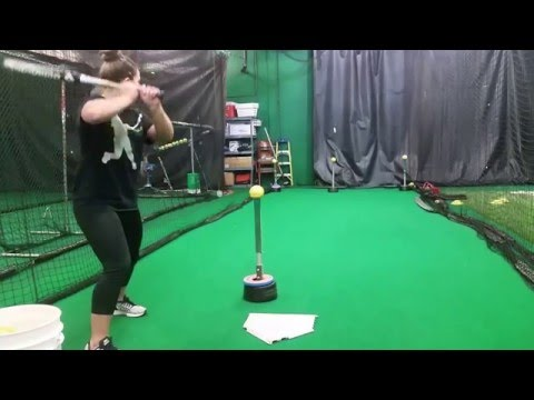 Power Line Drill Corner - Hitting - Two Tee Drill