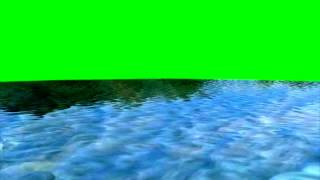 Water waves - free green screen effects