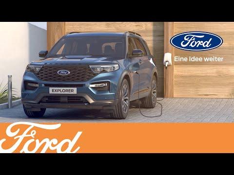 Der brandneue Explorer Plug-In-Hybrid von Ford | Ford Austria
