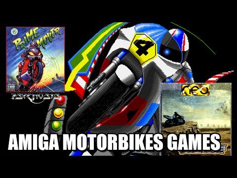 COMMODORE AMIGA TOP MOTORBIKE GAMES